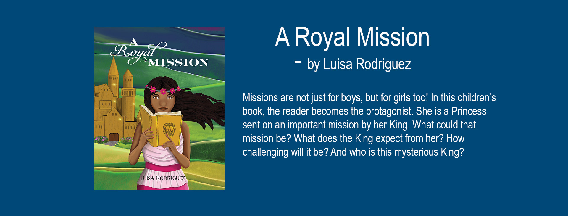A Royal Mission Girls Christian Book Image