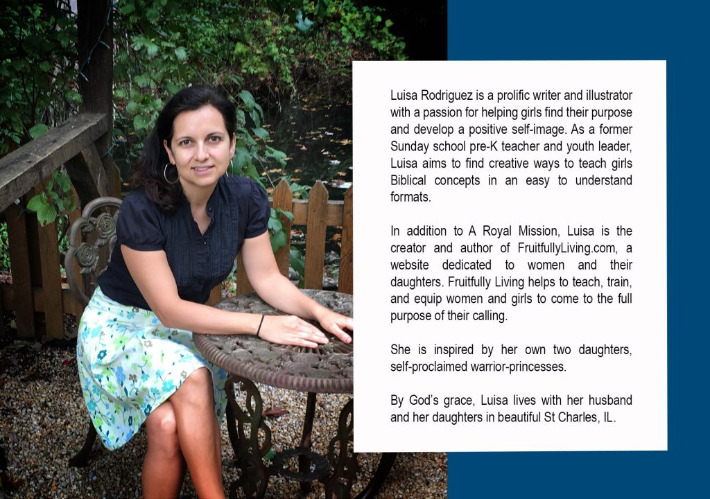A Royal Mission Author, Best Christian Children's Book for Girls