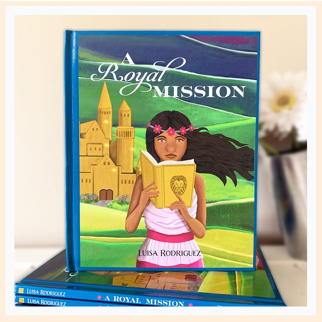 Christian book for girls with Jesus as King image