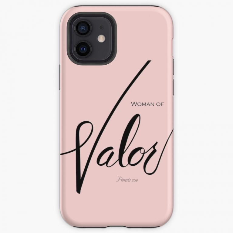Woman of Valor phone case